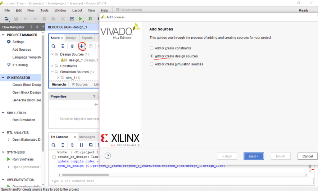 How to create a testbench in Vivado to learn Verilog or VHDL - Mis